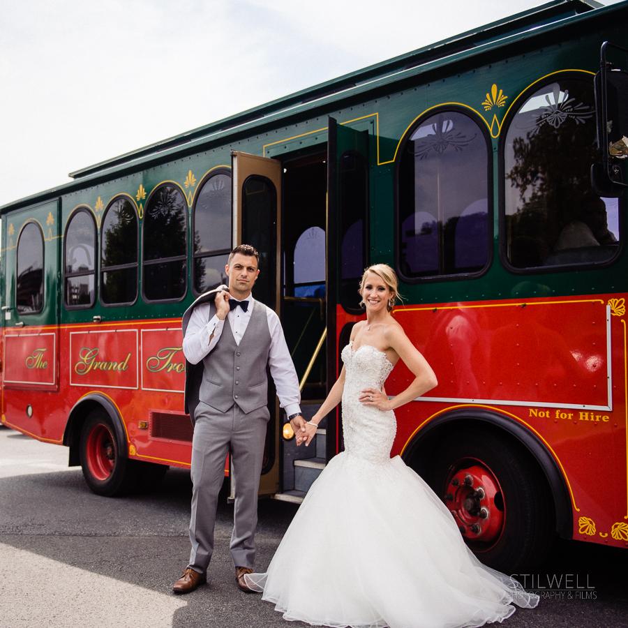 Couple Wedding Portrait Hudson Valley NY