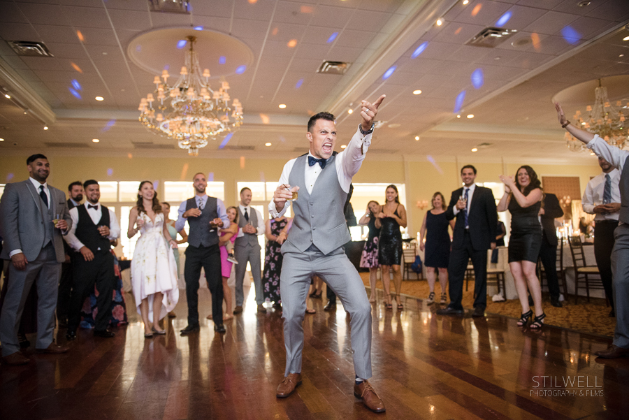 Fun Groom New York Wedding