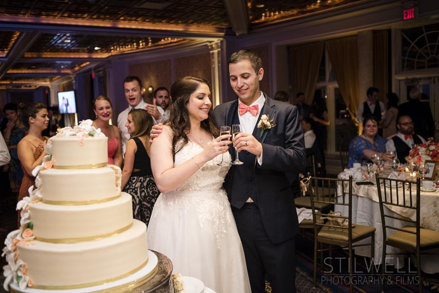 VIP Country Club Wedding Cake Photos