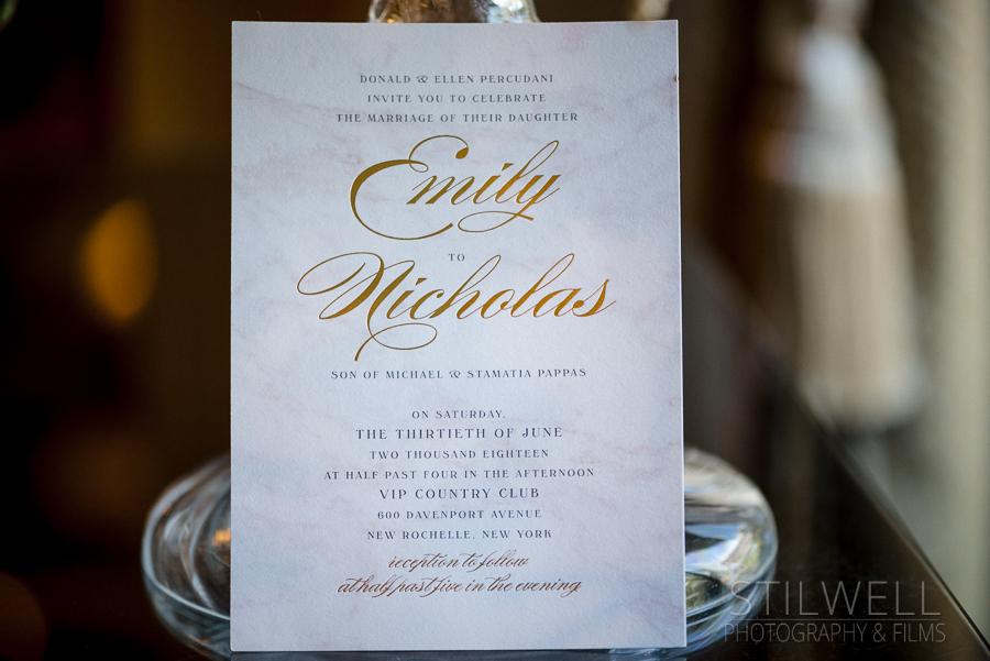 Wedding details New Rochelle NY