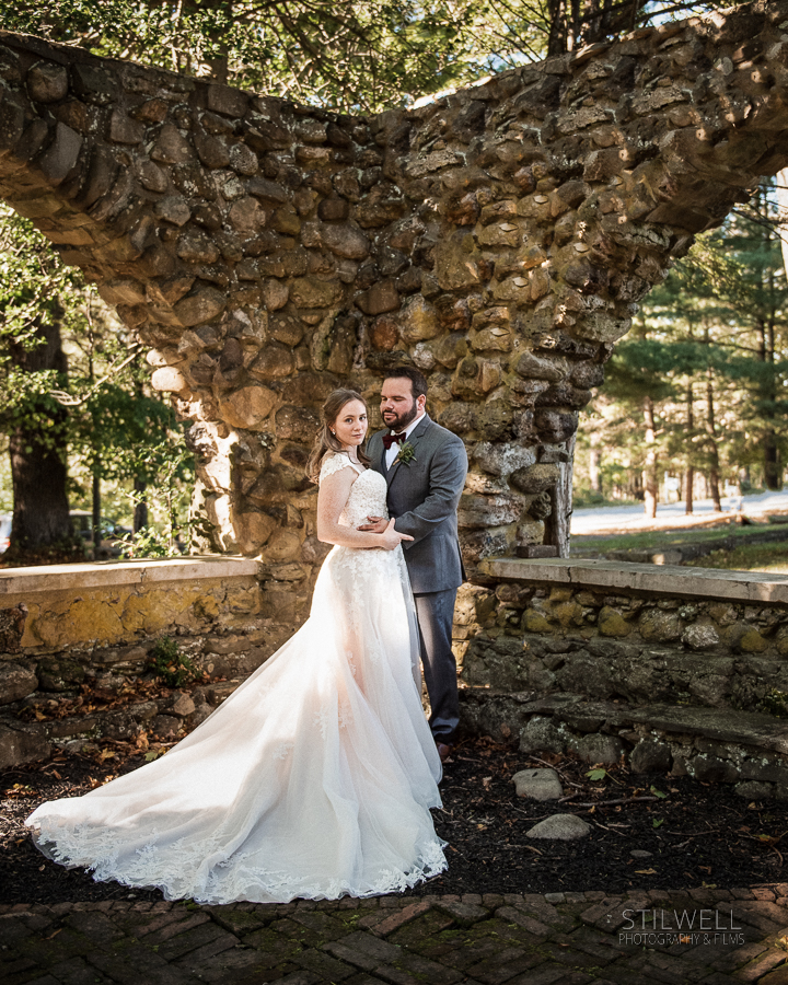 Bride and Groom NY Brotherood Winery Wedding