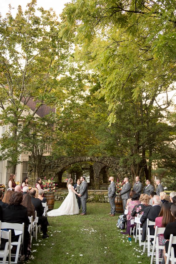 Brotherhood Winery Wedding Ceremony NY