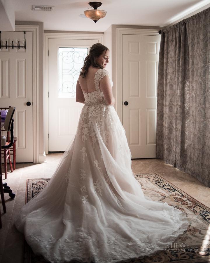 Caldwell House Bride Portrait