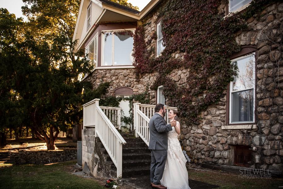 Portrait Bride and Groom Washingtonville NY