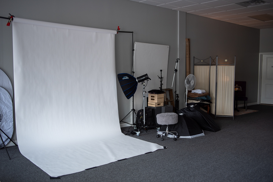 Stilwell Portraits Photography Area in Middletown NY Studio