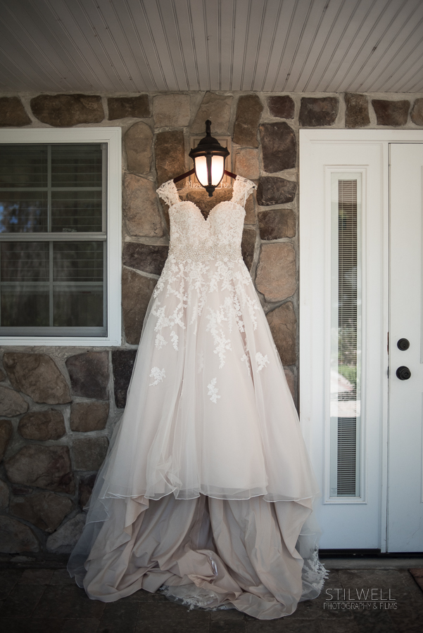 Wedding Dress Caldwell House Bed and Breakfast
