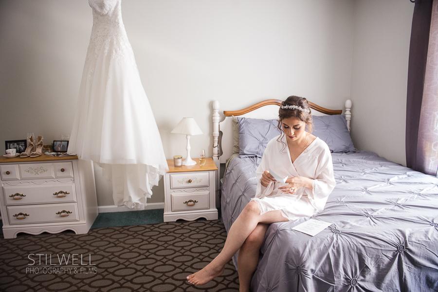 Bride Getting Ready Villa Barone Hilltop Manor