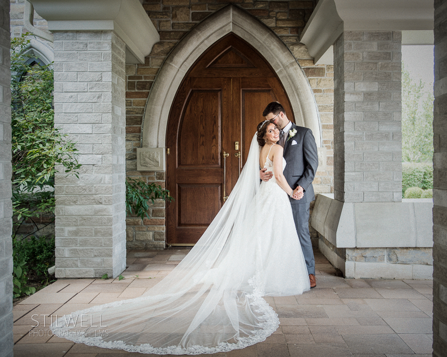 Bride and Groom Portrait Stilwell Photography
