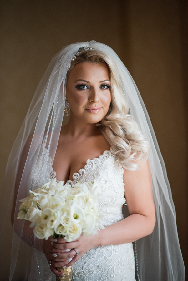 Bride Portrait Photographer Il Villaggio NJ Wedding