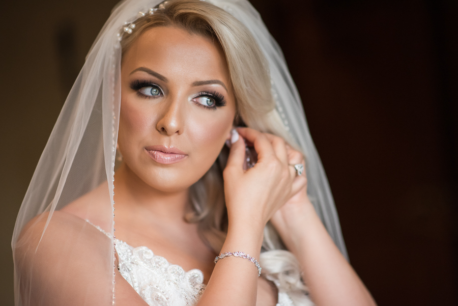 Bride Preparation NJ Wedding Il Villaggio Photographer