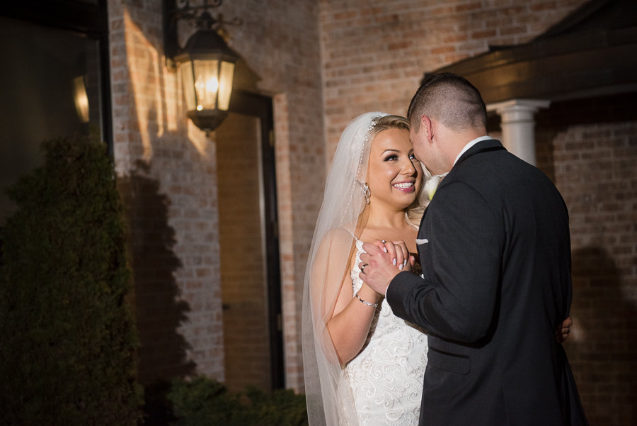 Bride and Groom NJ Wedding Il Villaggio Carlstadt NJ