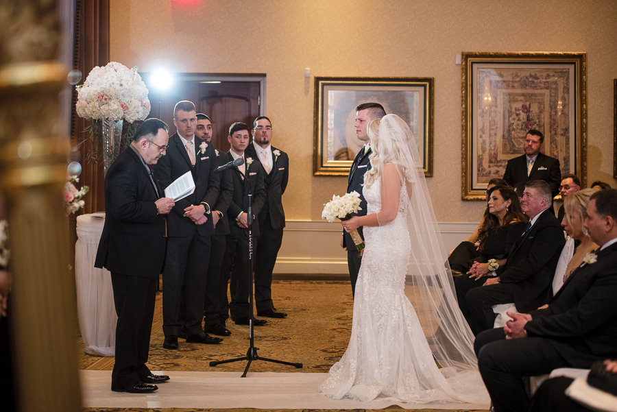 Ceremony Il Villaggio Carlstadt NJ Wedding Photography