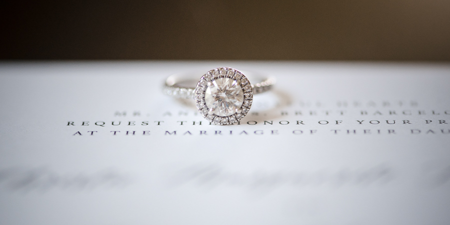Engagement Ring Whitby Castle Wedding