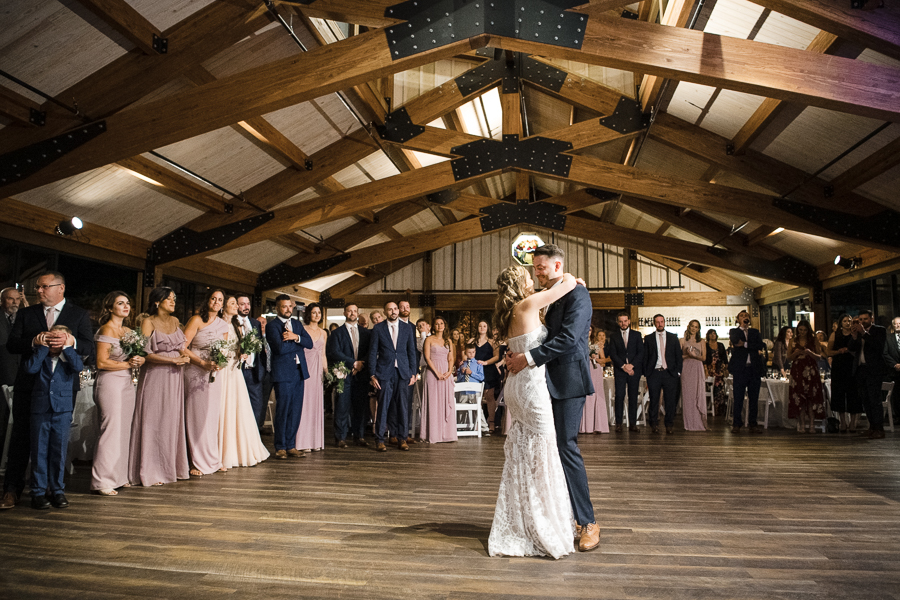 First Dance Red Maple Vineyard Wedding Pictures