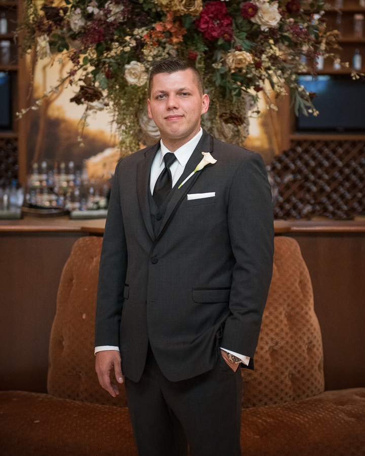 Groom Portrait Photographer Bergen County Wedding