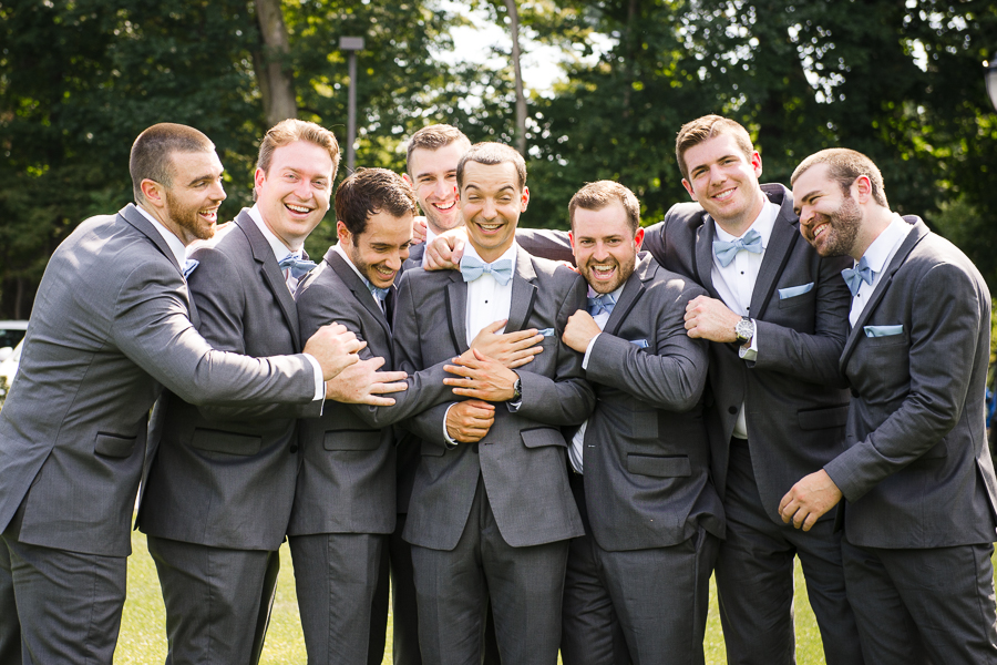 Groom and Groomsmen Wedding Rye NY Whitby Castle