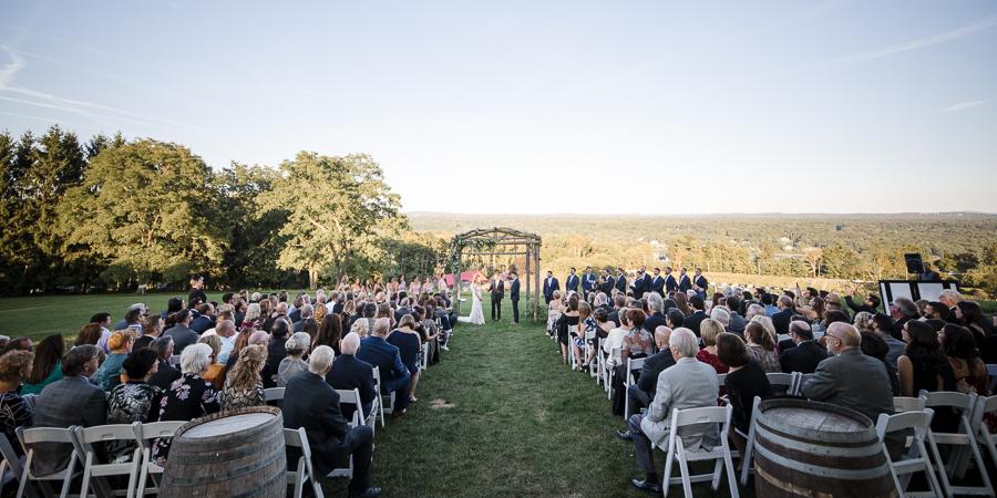 Hudson River Wedding Ceremony Photographer