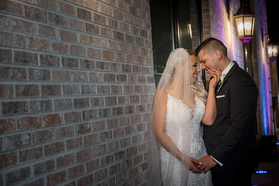 Night Portraits Il Villaggio Carlstadt NJ Wedding