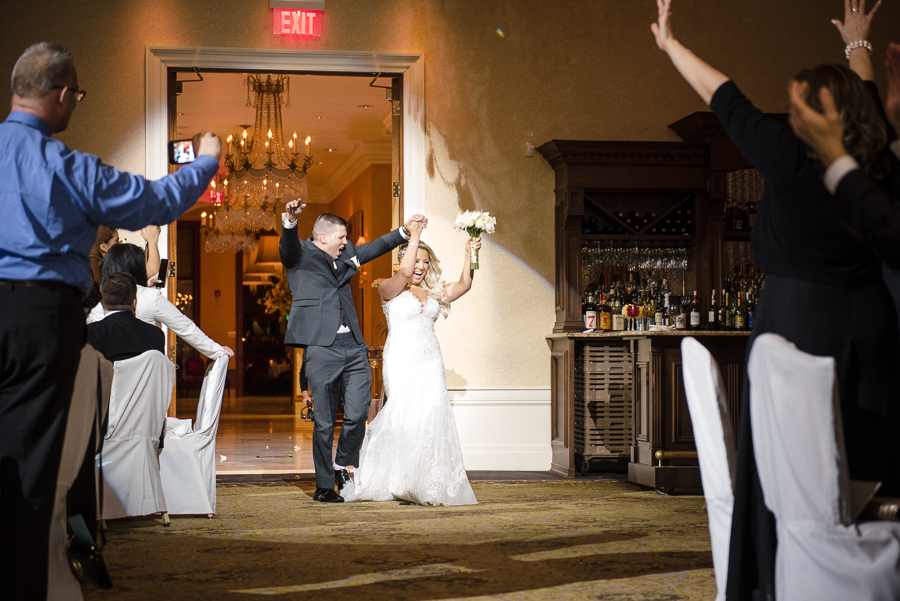 Reception NJ Wedding Il Villaggio Catering