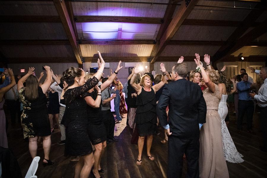 Reception Red Maple Vineyard Wedding