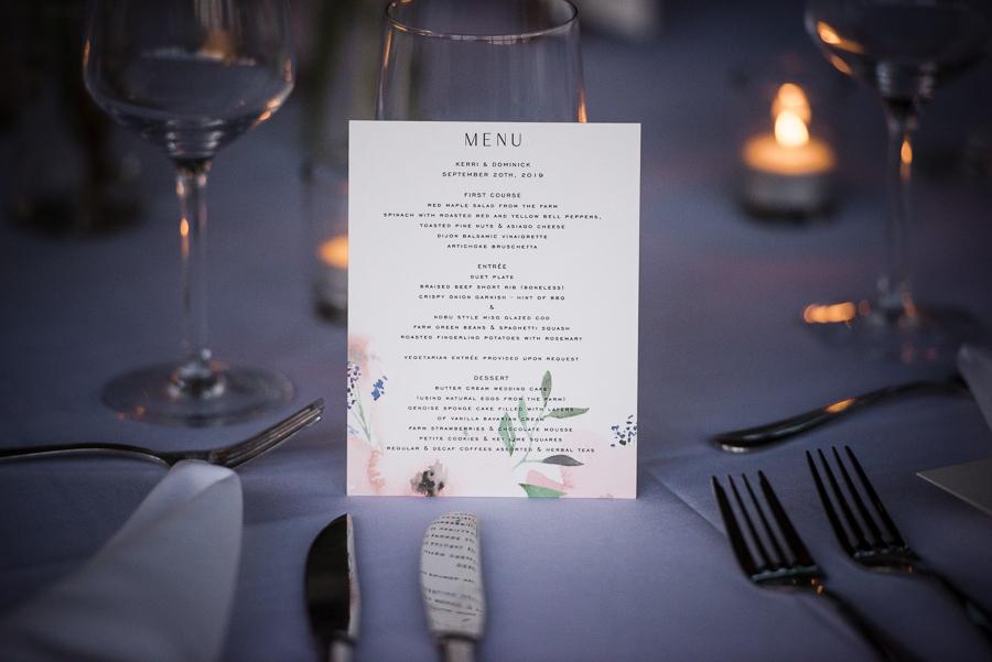 Red Maple Vineyard Wedding Details