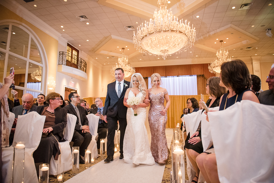 Wedding Ceremony Il Villaggio NJ Photographer