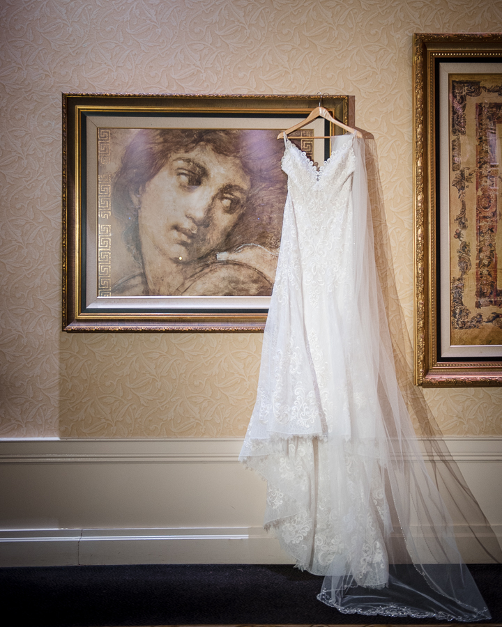 Wedding Dress Il Villaggio Carlstadt NJ Photographer