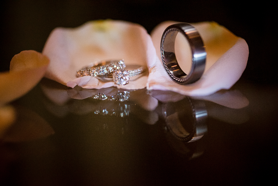 Wedding Rings Detail Bergen County Photographer