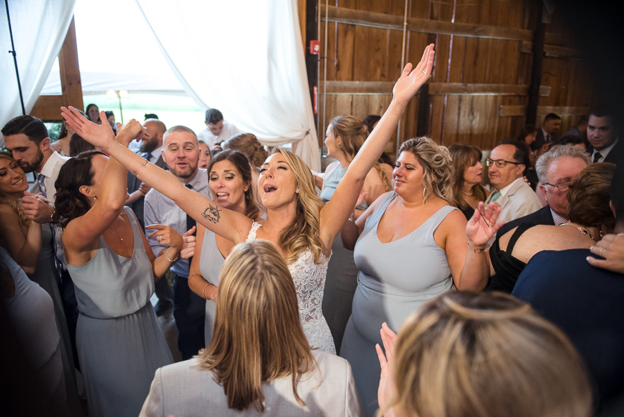 Dance Party Gilbertsville Farmhouse Wedding