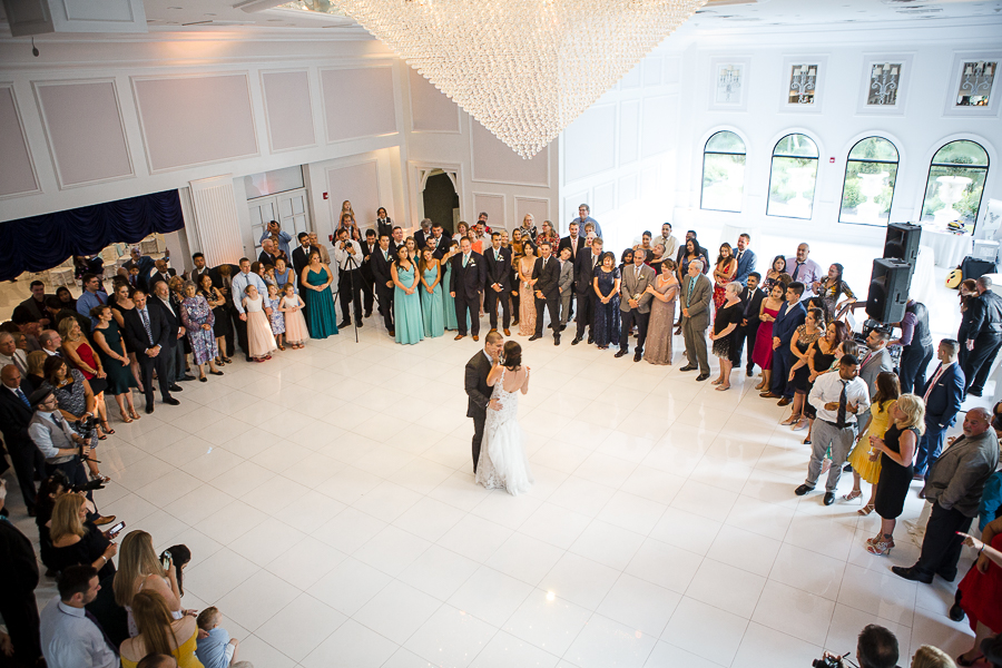 First Dance Villa Venezia Wedding