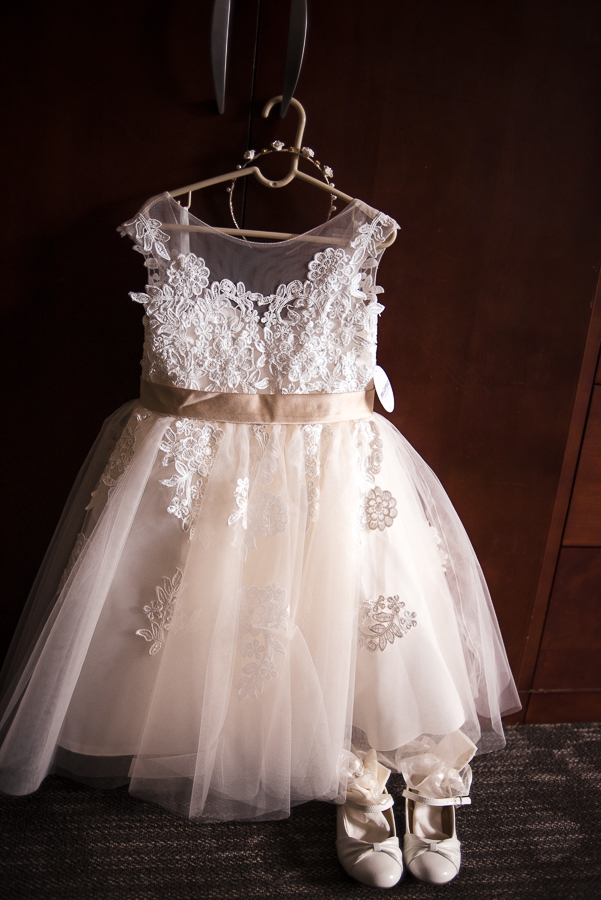 Flower Girl Dress for Villa Venezia Wedding Middletown NY