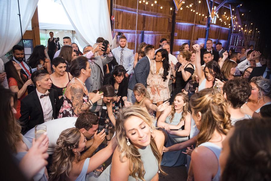Gilbertsville Farmhouse Wedding Reception Photographer