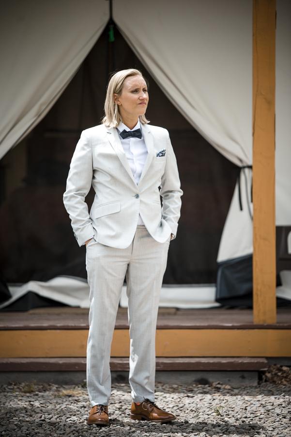 Portrait NY Glamping Wedding