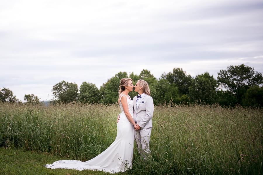 Summer Wedding Photographer Gilbertsville Farmhouse