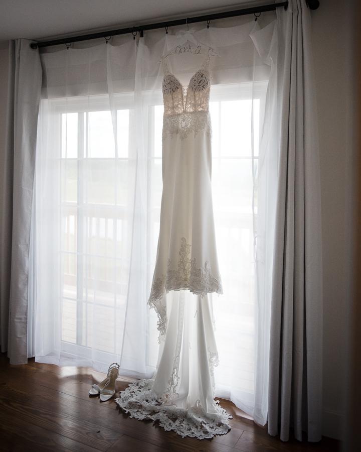 Wedding Dress Gilbertsville Farmhouse Wedding
