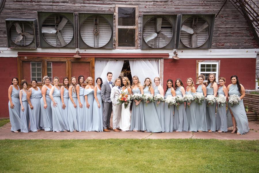 Wedding Party Gilbertsville Farmhouse