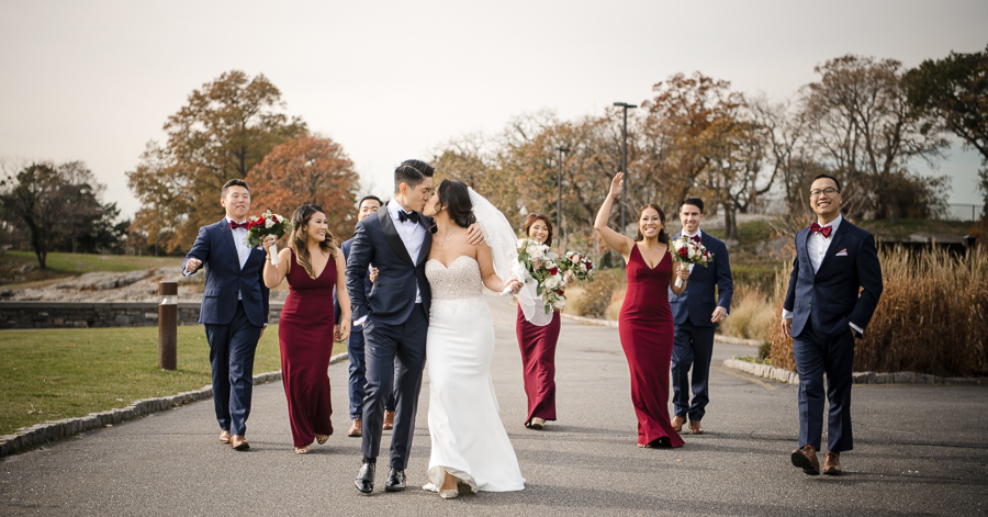 Bridal Party Photography Glen Island Harbour Club