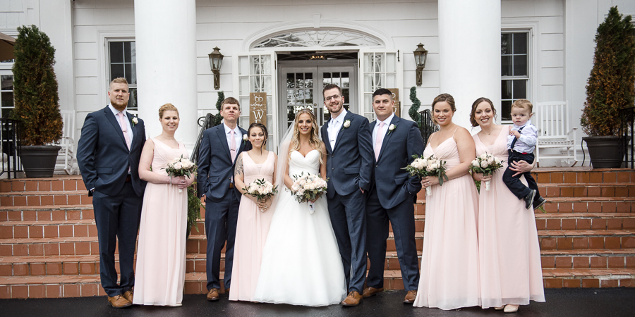 Bridal Party Westchester Wedding The Briarcliff Manor