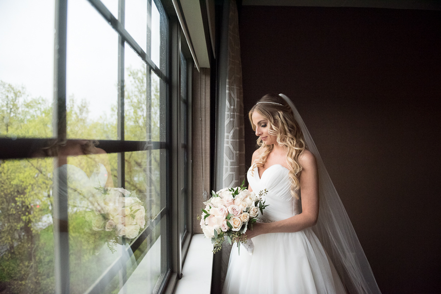 Bride Before Ceremony Westchester Briarcliff Manor