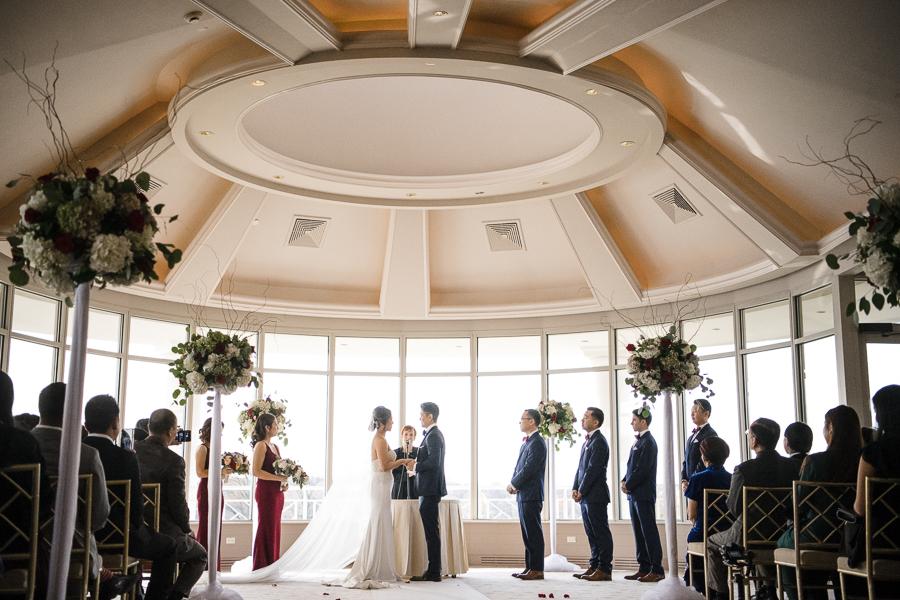 Glen Island Harbour Club Wedding Ceremony