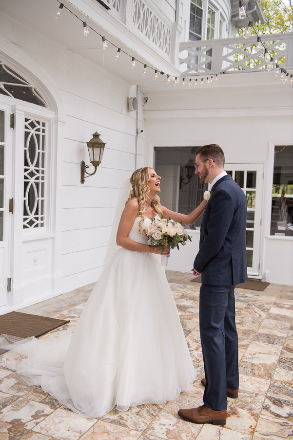 Wedding Briarcliff Manor First Look