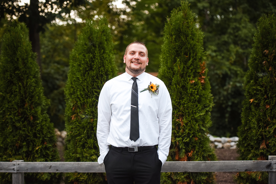 Groom Micro Wedding Hudson Valley Photographer