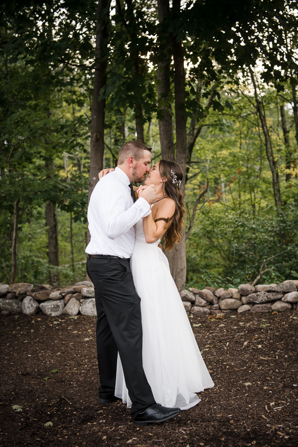 Orange County NY Micro Wedding Bride and Groom