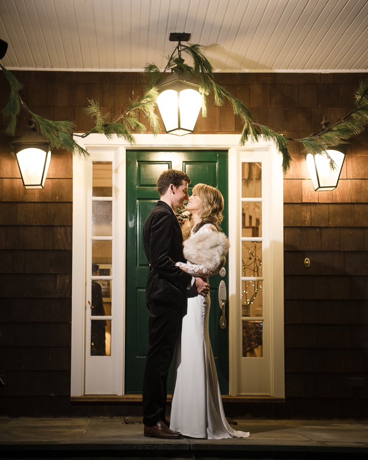 Bride and Groom Wedding Minimony