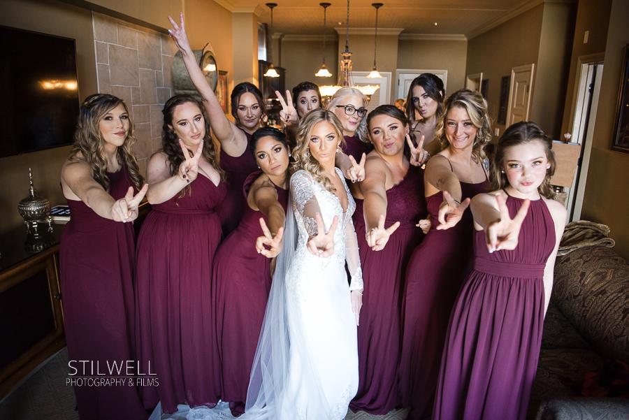 Bride and Bridesmaids NJ Wedding Photography