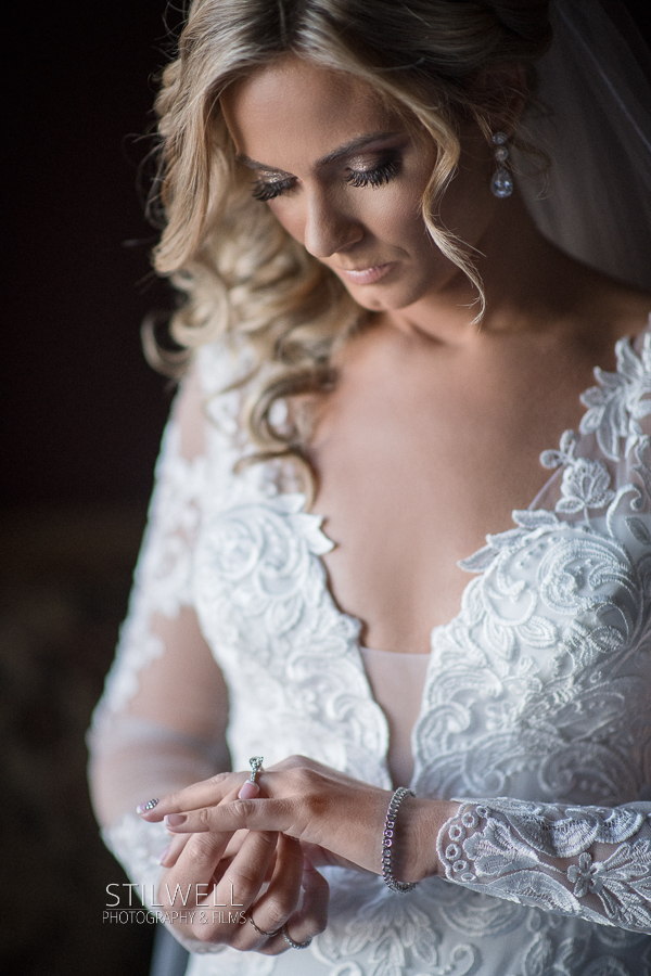 NJ Bride Getting Ready