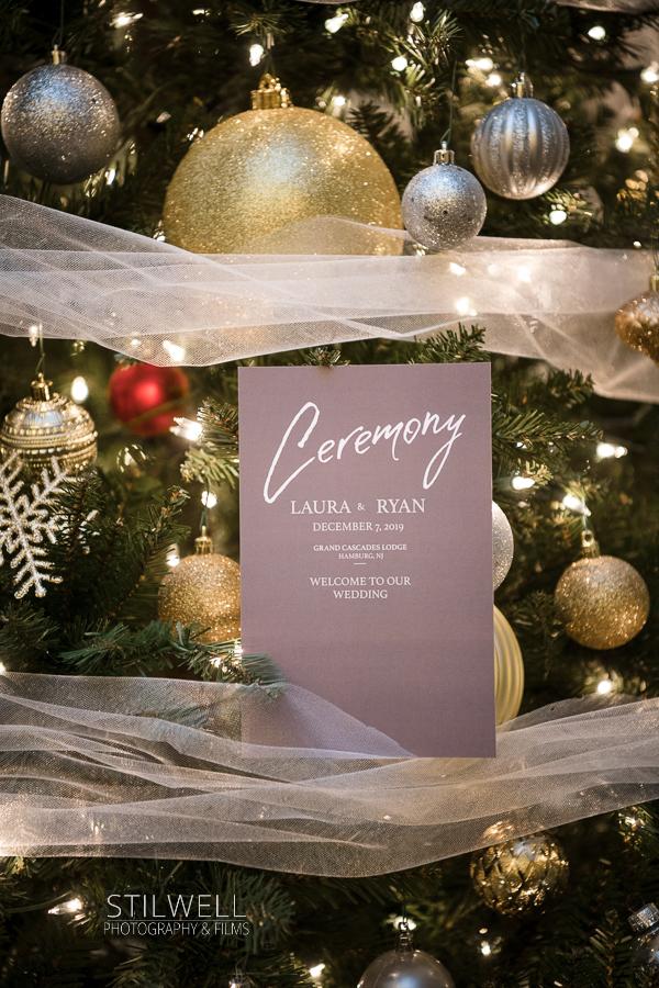 NJ Wedding Invitation Crystal Springs