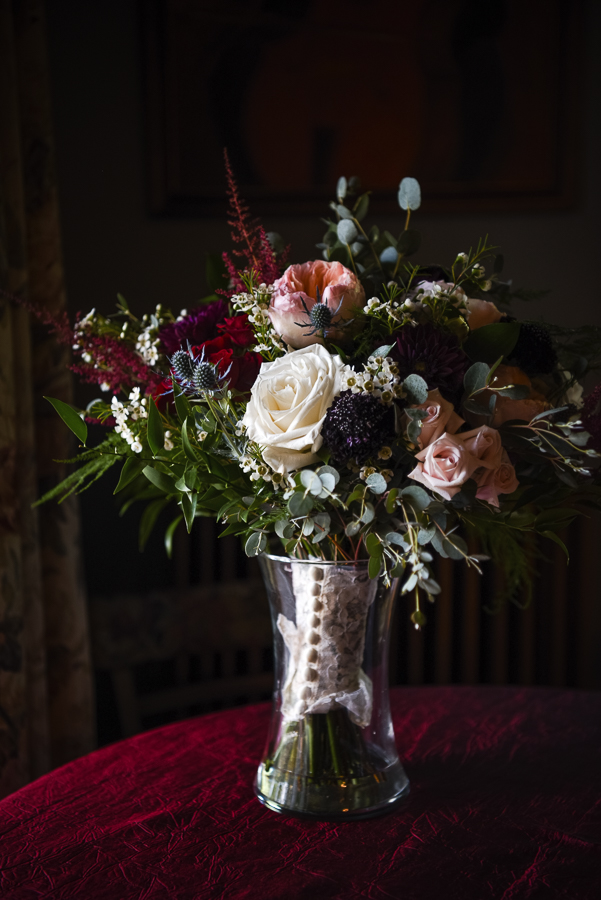 Bride Bouquet FEAST at Round Hill Wedding