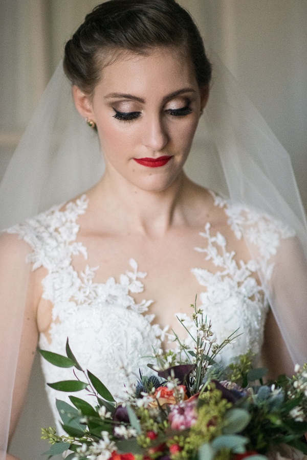 Bride Portrait The Poughkeepsie Grand Hotel