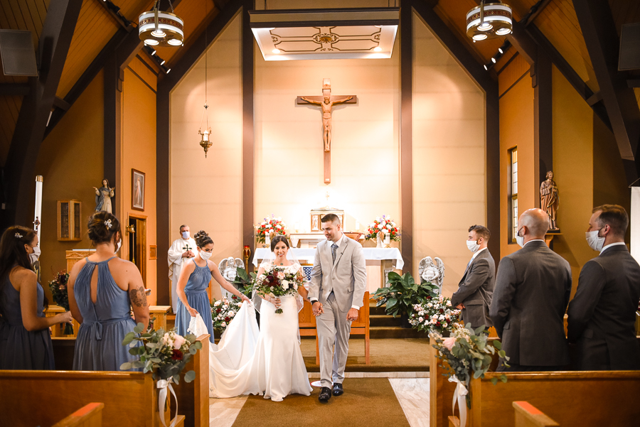 St. Columba Church Wedding Chester NY